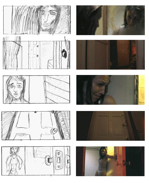 Paranoid  DirectorS Notebook  Storyboard To Film Comparison